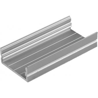 EUROLITE U-profile 20mm for LED Strip silver 2m