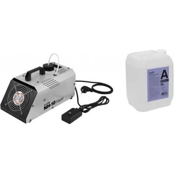 EUROLITE Set NH-10 + Smoke Fluid -A2D- 5l