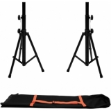 OMNITRONIC Set 2x BS-1 EU Loudspeaker Stand + Carrying bag