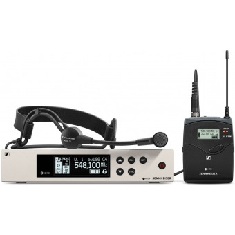 Sistem microfon wireless Sennheiser EW 100 G4-ME3
