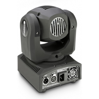 Cameo NanoBeam 300 1 x 30 W Cree LED RGBW Mini Moving Head with Unlimited Pan incl. IR-Remote #2