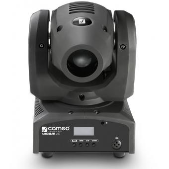Cameo NanoBeam 300 1 x 30 W Cree LED RGBW Mini Moving Head with Unlimited Pan incl. IR-Remote #3