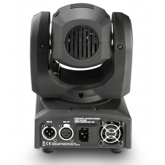 Cameo NanoBeam 300 1 x 30 W Cree LED RGBW Mini Moving Head with Unlimited Pan incl. IR-Remote #4