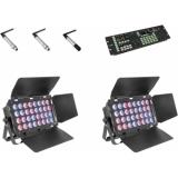 EUROLITE Set 2x Stage Panel 32 + Color Chief + QuickDMX transmit