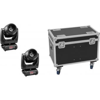 EUROLITE Set 2x TMH XB-130 + Case