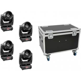 EUROLITE Set 4x TMH XB-130 + Case