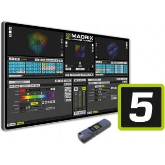 MADRIX UPGRADE entry -> maximum