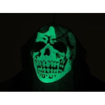 EUROPALMS Halloween Figure Old Woman, Glow in the Dark, 210cm #4