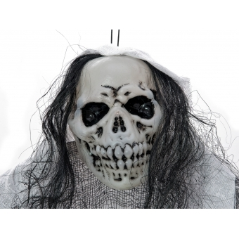 EUROPALMS Halloween Figure White Woman, Glow in the Dark, 210cm #2