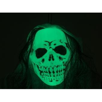EUROPALMS Halloween Figure White Woman, Glow in the Dark, 210cm #3