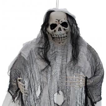 EUROPALMS Halloween Figure White Woman, Glow in the Dark, 210cm #4
