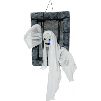 EUROPALMS Halloween Figure Ghost in Jail, 46cm