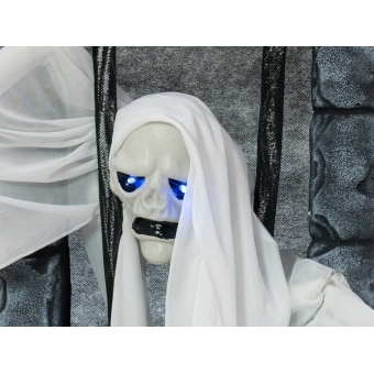 EUROPALMS Halloween Figure Ghost in Jail, 46cm #2