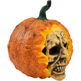EUROPALMS Halloween Skull Pumpkin, 26cm #2