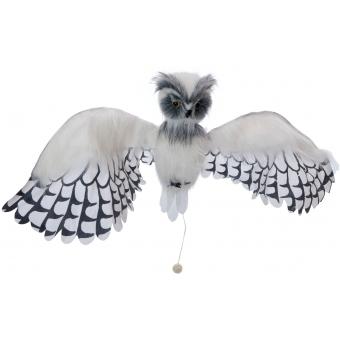EUROPALMS Halloween Snow Owl Hermine