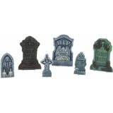 EUROPALMS Halloween Tombstone Set 6 piece