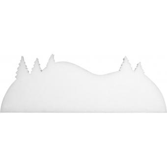 EUROPALMS Winter landscape made of  snow matting, flame retarden #4