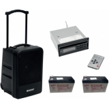 OMNITRONIC Set MOM-10BT4 Modular wireless PA system + CD Player