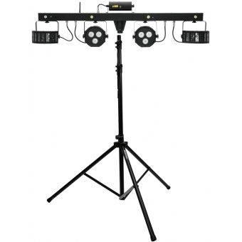 EUROLITE Set LED KLS Laser Bar FX Light Set + M-4 Speaker-System
