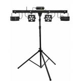 EUROLITE Set LED KLS Laser Bar PRO FX Light Set + M-4 Speaker-Sy
