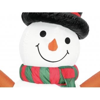 EUROPALMS Inflatable Figure Snowman, 180cm #2