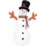 EUROPALMS Inflatable Figure Snowman, 180cm