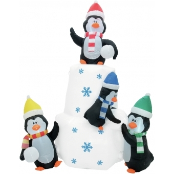 EUROPALMS Inflatable Figure Penguins, 240cm