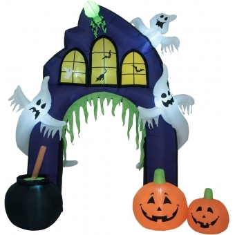 EUROPALMS Inflatable Figure Haunted House Portal, 270cm