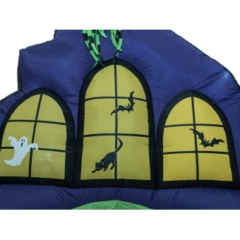 EUROPALMS Inflatable Figure Haunted House Portal, 270cm #4