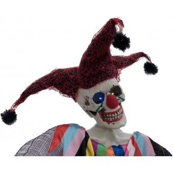 EUROPALMS Halloween Figure Harlequin, 210cm #2