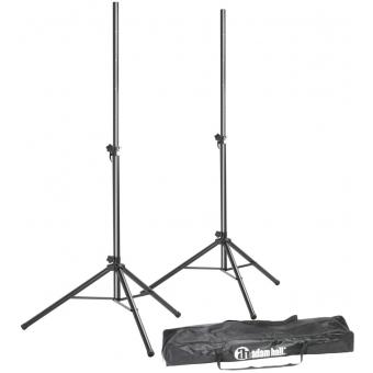 Adam Hall Stands SPS 023 SET Speaker Stand Set -  2 Speaker Stands with Bag
