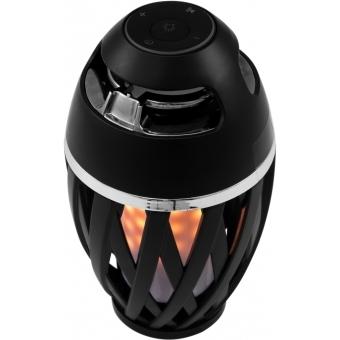 EUROLITE AKKU FL-2 LED Flamelight with Bluetooth Speaker #2