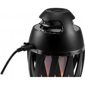 EUROLITE AKKU FL-2 LED Flamelight with Bluetooth Speaker #4