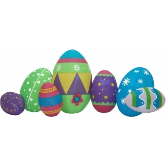 EUROPALMS Inflatable Figure Easter Eggs, 100cm