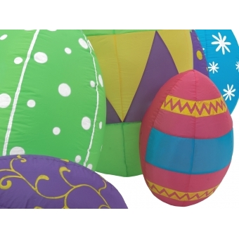 EUROPALMS Inflatable Figure Easter Eggs, 100cm #3