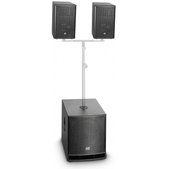 "LD Systems DAVE 10 G3 Compact 10"" active PA System #2"