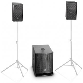 """LD Systems DAVE 10 G3 Compact 10"""" active PA System #12"""