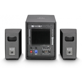"""LD Systems DAVE 10 G3 Compact 10"""" active PA System #4"""