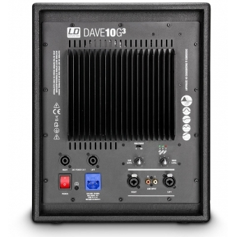 "LD Systems DAVE 10 G3 Compact 10"" active PA System #5"