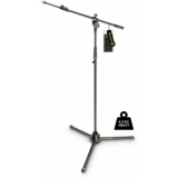 Gravity MS 4322 HDB Heavy Duty Microphone Stand, Tripod, 2-Point Telescopic Boom