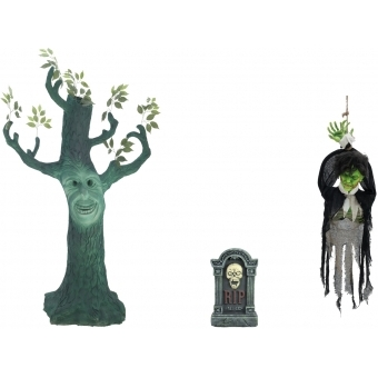 EUROPALMS Set Halloween GHOST TREE