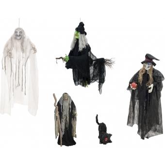 EUROPALMS Set Halloween WITCHES