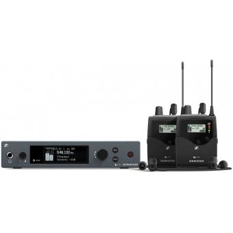 Sistem wireless dublu monitorizare in-ear IEM G4 TWIN