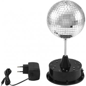 EUROLITE LED Mirror Ball 13cm with Base #2