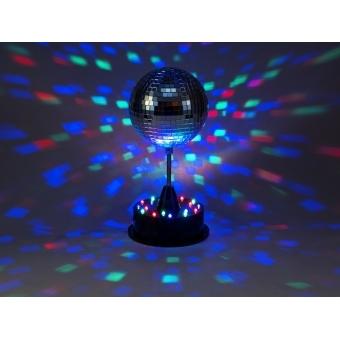 EUROLITE LED Mirror Ball 13cm with Base #3