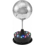 EUROLITE LED Mirror Ball 13cm with Base