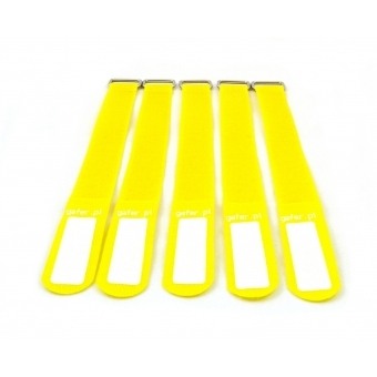 GAFER.PL Tie Straps 25x260mm 5 pieces yellow #1