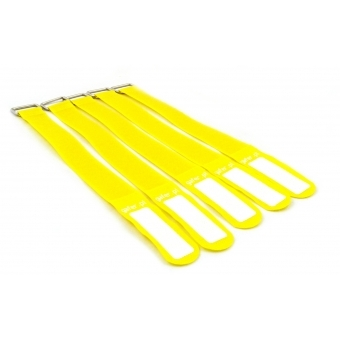 GAFER.PL Tie Straps 25x260mm 5 pieces yellow #2