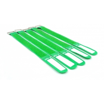GAFER.PL Tie Straps 25x400mm 5 pieces green #2