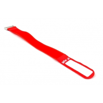 GAFER.PL Tie Straps 25x400mm 5 pieces red #2